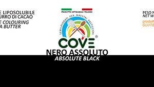 Coloranti Liposolubili in Burro di Cacao gr 200 - Nero Assoluto