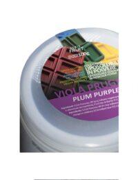 coloranti liposolubili in polvere viola prugna