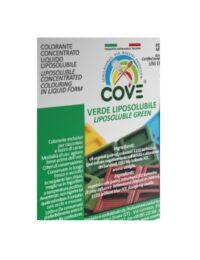 etichetta coloranti liposolubile verde
