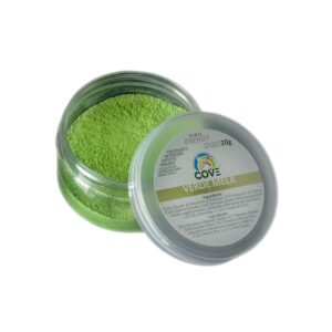coloranti in polvere alcoolsolubili perlati verde mela