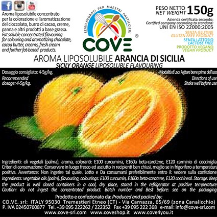 Aromi Liposolubili Concentrati g 150 - Limone di Sicilia