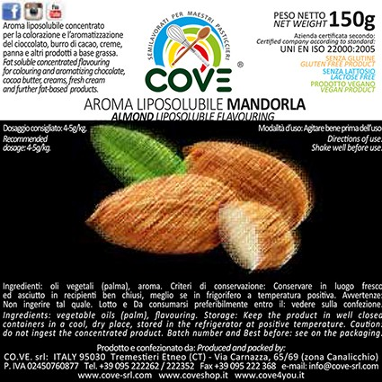 Aromi Liposolubili Concentrati g 150 - Mandorla