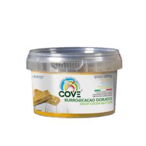 Burro di cacao Linea Diamante gr 200 - dorato