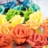 rose cioccolato plastico decorazioni per torte