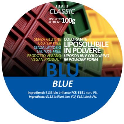 coloranti liposolubili in polvere blu