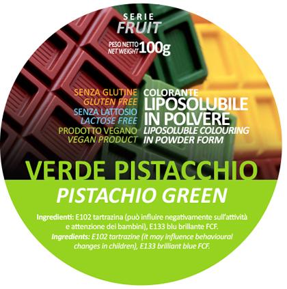 coloranti liposolubili in polvere verde pistacchio
