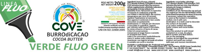 cacao Verde fluo