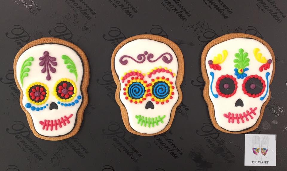 biscotti decorazione dias de los muertos