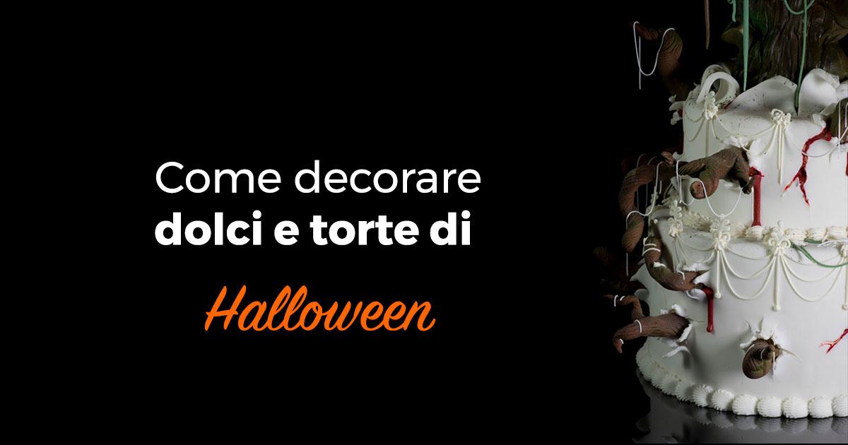 come decorare i dolci di halloween con i prodotti cove